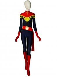 2018 Newest MsMarvel Carol Danvers Female Superhero Costume