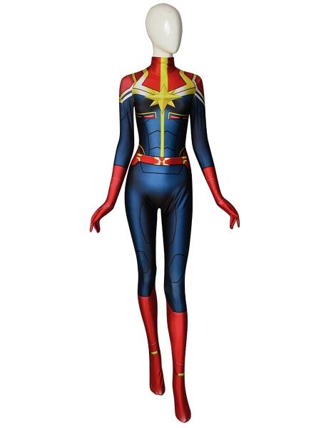 Captain-Marvel MsMarvel Cosplay Costume