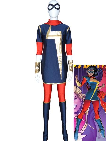 MSMarvel Kamala Khan Girls Superhero Costume