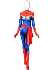 Ms. Marvel Carol Danvers Cosplay Costume