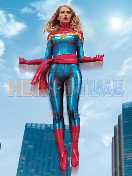 MsMarvel Carol Danvers Cosplay Costume