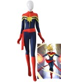 Ms Marvel Carol Danvers Female Superhero Costume