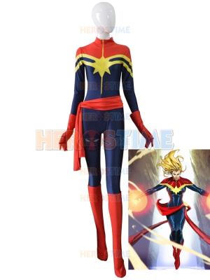 Ms Marvel Carol Danvers Female Superhero Costume