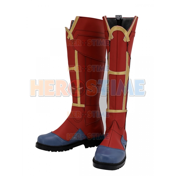 Captain Marvel Shoes Captain Marvel Cosplay Boots So here is the second part of the requested captain marvel costume. captain marvel shoes captain marvel