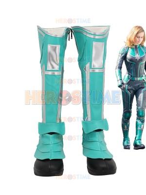 Avengers Endgame Cosplay Captain Marvel Boots