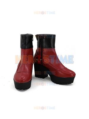 Captain Marvel Shoes Carol Danvers Halloween Cosplay Boots
