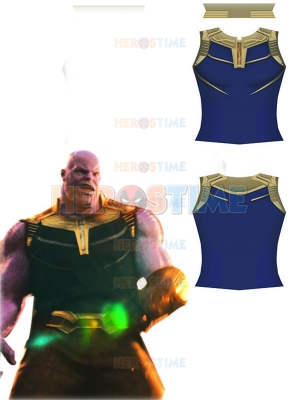 Thanos Avengers: Infinity War Printing Spandex Sleeveless Shirt