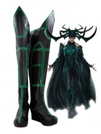 Hela Cosplay Shoes Thor: Ragnarok Boots Leotard Style