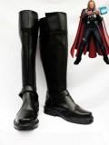 Marvel Comics Thor Black Superhero Cosplay Boots