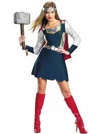Marvel Comics Thor Female Dress Style Costume