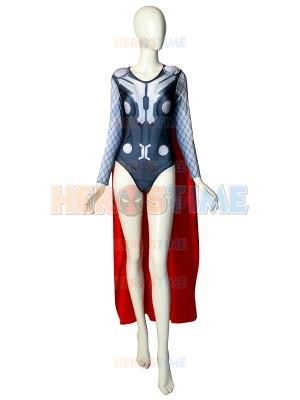 Thor Leotard Sexy Version Female Superhero Costume