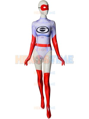 Elastigirl Costume The Incredibles 2 Dyesub Printing Cosplay Costume