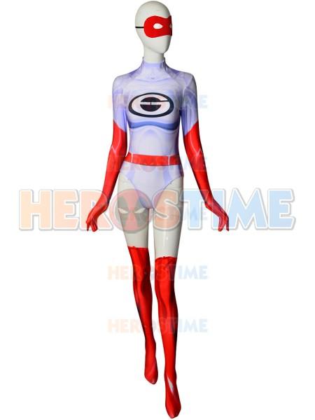 Elastigirl Costume The Incredibles 2 Dyesub Printing Cosplay Costume