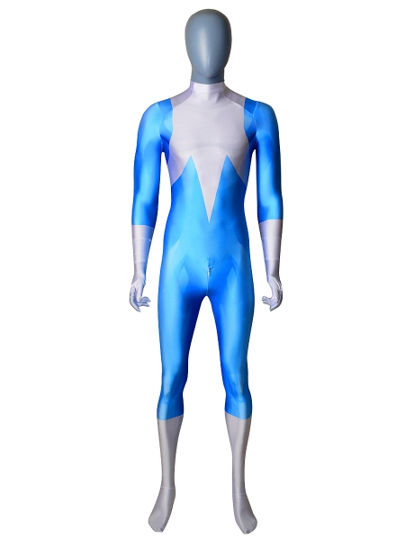 Frozone Suit The Incredibles 2 Dyesub Cosplay Costume No Mask