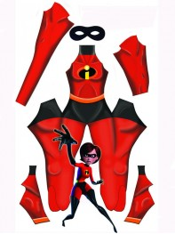 Newest The Incredibles Elastigirl Helen Parr Superhero Costume