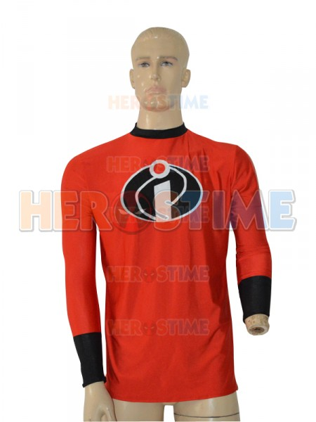 Mr. Incredible Red Long Sleeve T-shirt