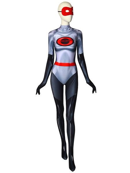 The Incredibles 2 Elastigirl V2 Printing Spandex Catsuit