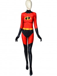 The Incredibles Female Version Cosplay Costume