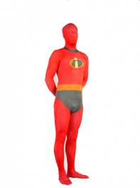 The Incredibles-Mr Incredible Fullbody Superhero Costume
