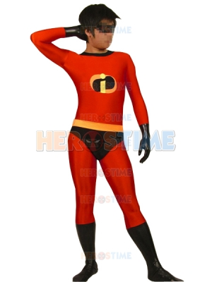 The Incredibles-Mr Incredible Spandex Superhero Costume