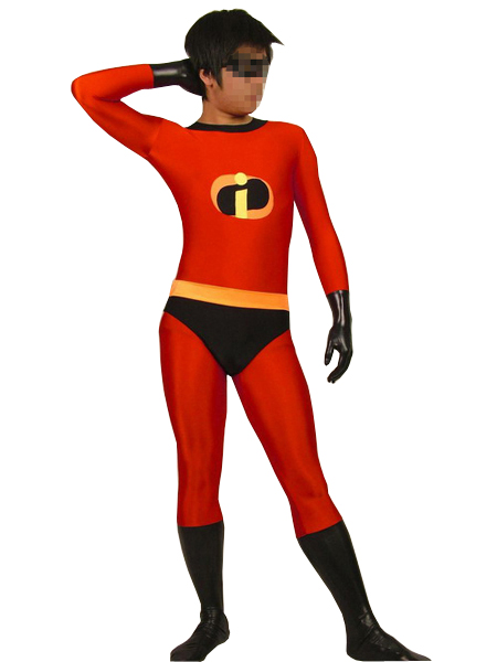 The Incredibles-Mr Incredible Spandex Superhero Costume