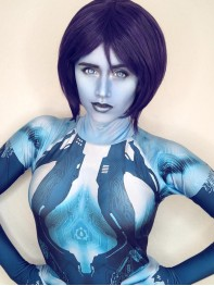 Halo Cortana Costume Video Game Girl Cortana Cosplay Suit