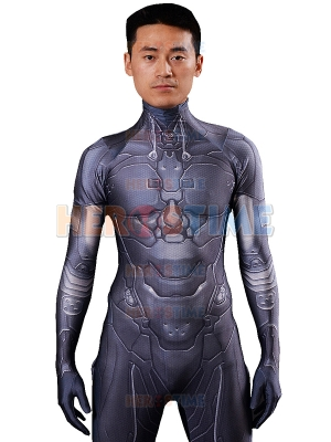 Video Game Halo Cosplay Costume 3D Design Undersuit