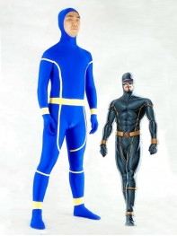 X-Men Cyclops Spandex Superhero Costume