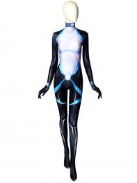 Domino Neena Thurman X-force Printing Superhero Cosplay Costume
