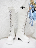 X-Men Emma Frost Superhero Cosplay Boots