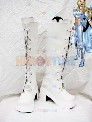 X-Men Emma Frost Superhero Cosplay Boots