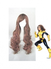 Kitty Pryde X-men Female Superhero Long Curly Wig