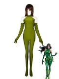 Army Green Madame Hydra/Viper Spandex Costume