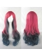 Madelyne Pryor Long Red & Black Cosplay Wig