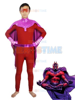 X-men Magneto Spandex Superhero Costume