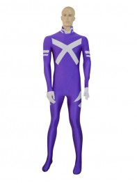 Psylocke Purple Female Superhero Costume