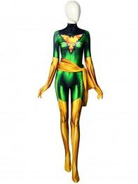 2018 Phoenix X-men Jean Grey Dyesub Girls Superhero Costume