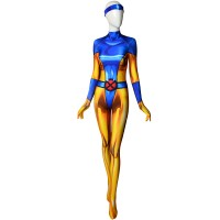 Jean Grey Costume X-men Phoenix Cosplay Plug Suit