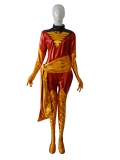 X-men Phoenix Jean Grey Shiny Superhero Costume