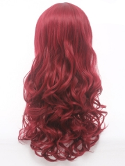 Phoenix Jean Grey Wine Red Curly Superhero Wig