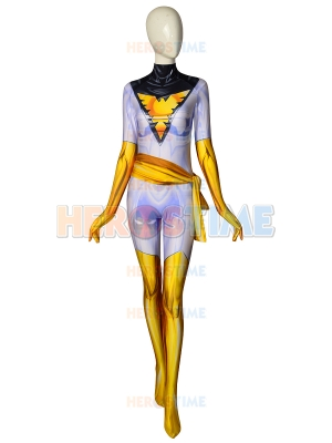 White Phoenix of the Crown Jean Grey Cosplay Costume