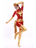 Red & Golden X-Men Dark Phoenix Superhero Costume