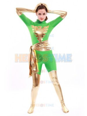 Green X-men Dark Phoenix Costume