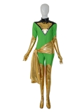 Jean Grey X-men Green Female Superhero Costume