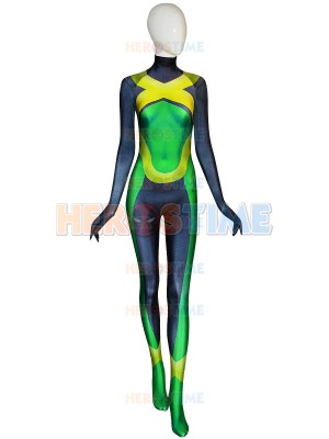 X-men Young Jean Grey Printing Superhero Costume