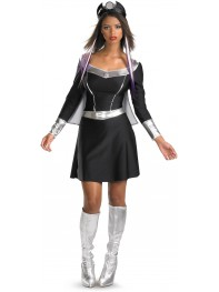 Classic X-men Storm Spandex Superhero Dress