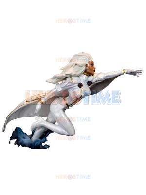 White X-men Storm Spandex Superhero Costume