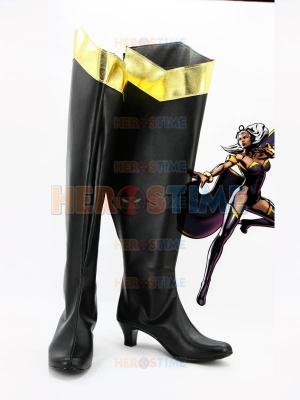 X-men Black Storm Superhero Boots
