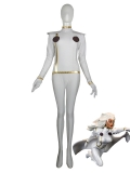 X-men White Storm Spandex Superhero Costume