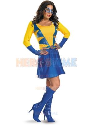 Classic Wild Thing Spandex Superhero Dress